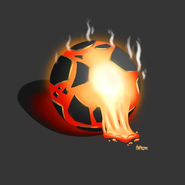 Molten Magma Maltball