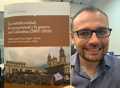 Reseña del libro: La subalternidad, lo excepcional y la guerra en Colombia (2005 - 2010)