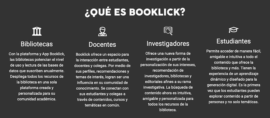 Que es Booklick
