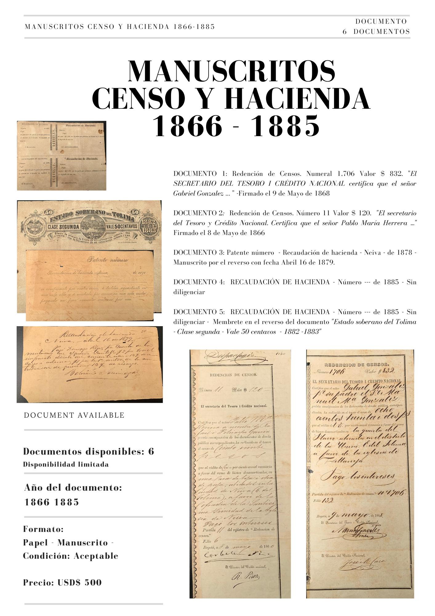 CENSO Y HACIENDA