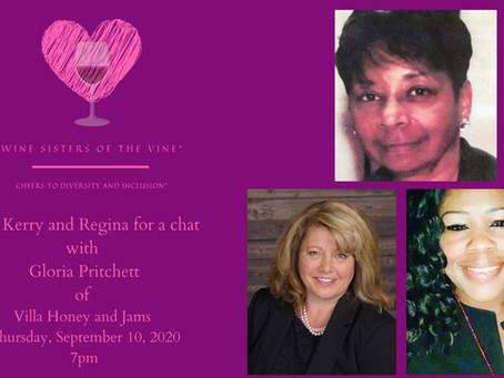 Ep. 5: Backyard Wines and Bee Keeper Gloria Pritchett