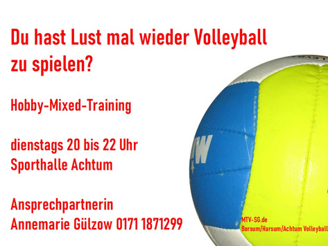 Hobby-Mixed am Dienstag
