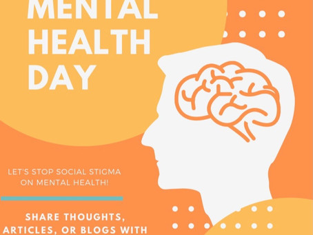Happy World Mental Health Day!