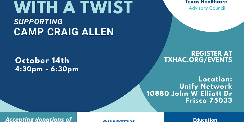 Happy Hour with a Twist - Supporting Camp Craig Allen