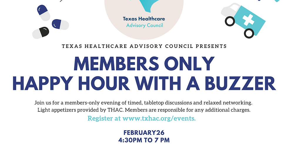 Members Only: Happy Hour with a Buzzer