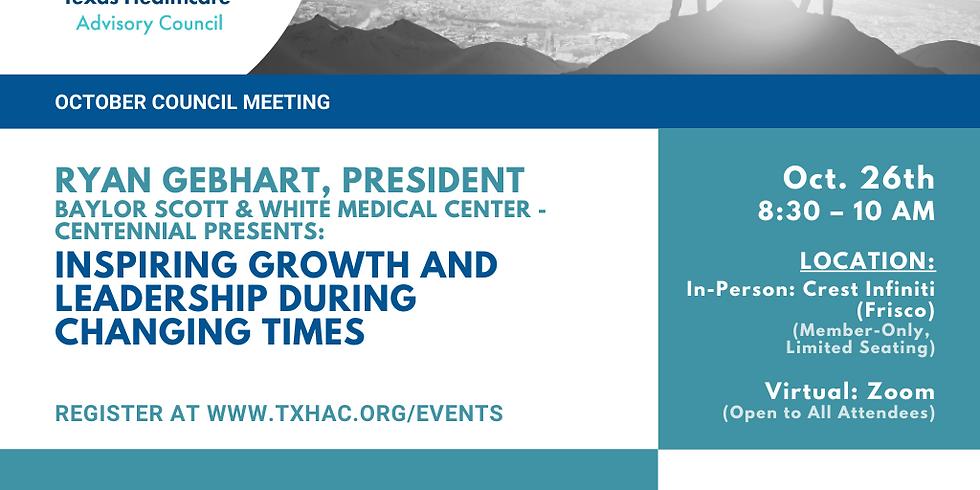 General Membership Meeting - Inspiring Growth and Leadership During Changing Times
