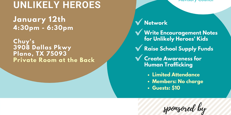 Happy Hour with a Twist - Supporting unlikely heroes