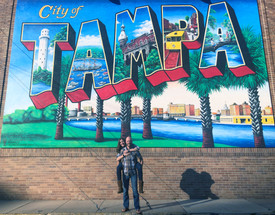 Tampa Postcard Mural