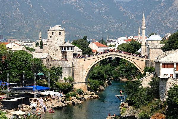 Tourism-Mostar-River-Herzegovina-Bosnia-