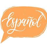 The word Espanol - Spanish
