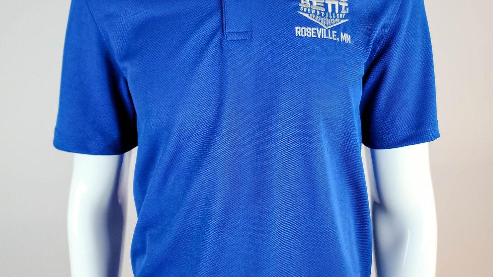 Bent Logo Golf Shirt