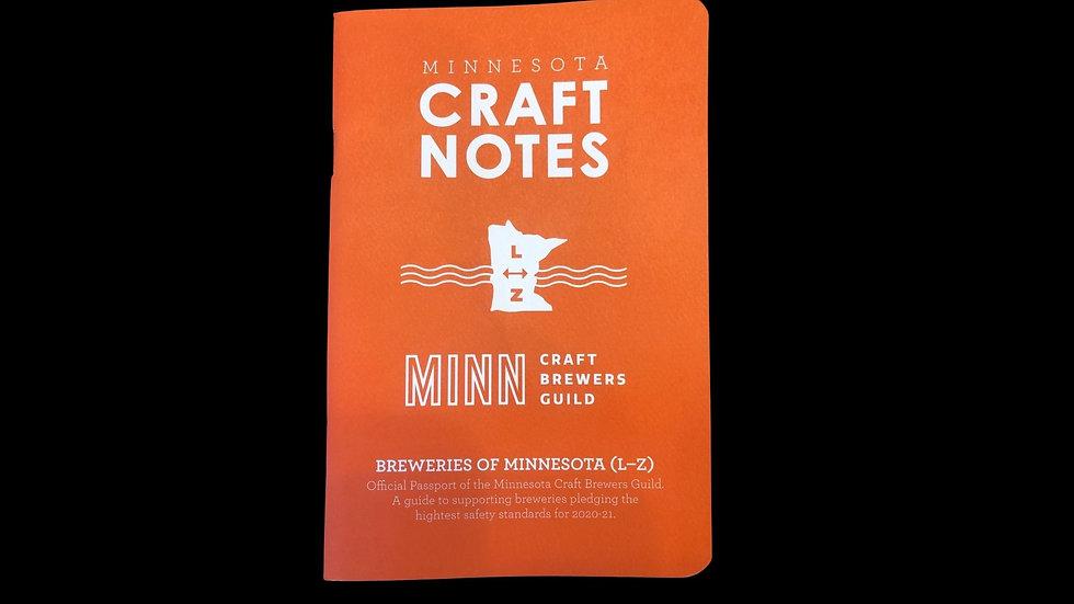 Craft Notes Passport
