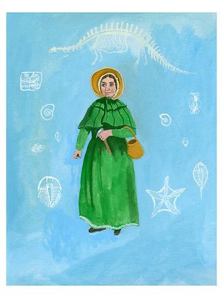 Mary Anning Print