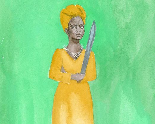 Queen Nanny Print