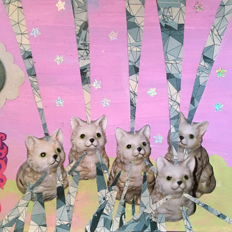 Crystal space cats