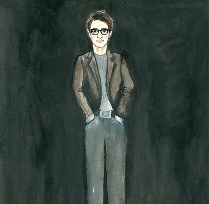 Rachel Maddow Print