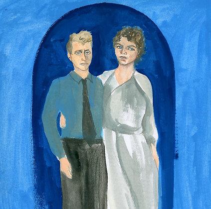 Leslie Feinberg and Minnie Bruce Pratt Print