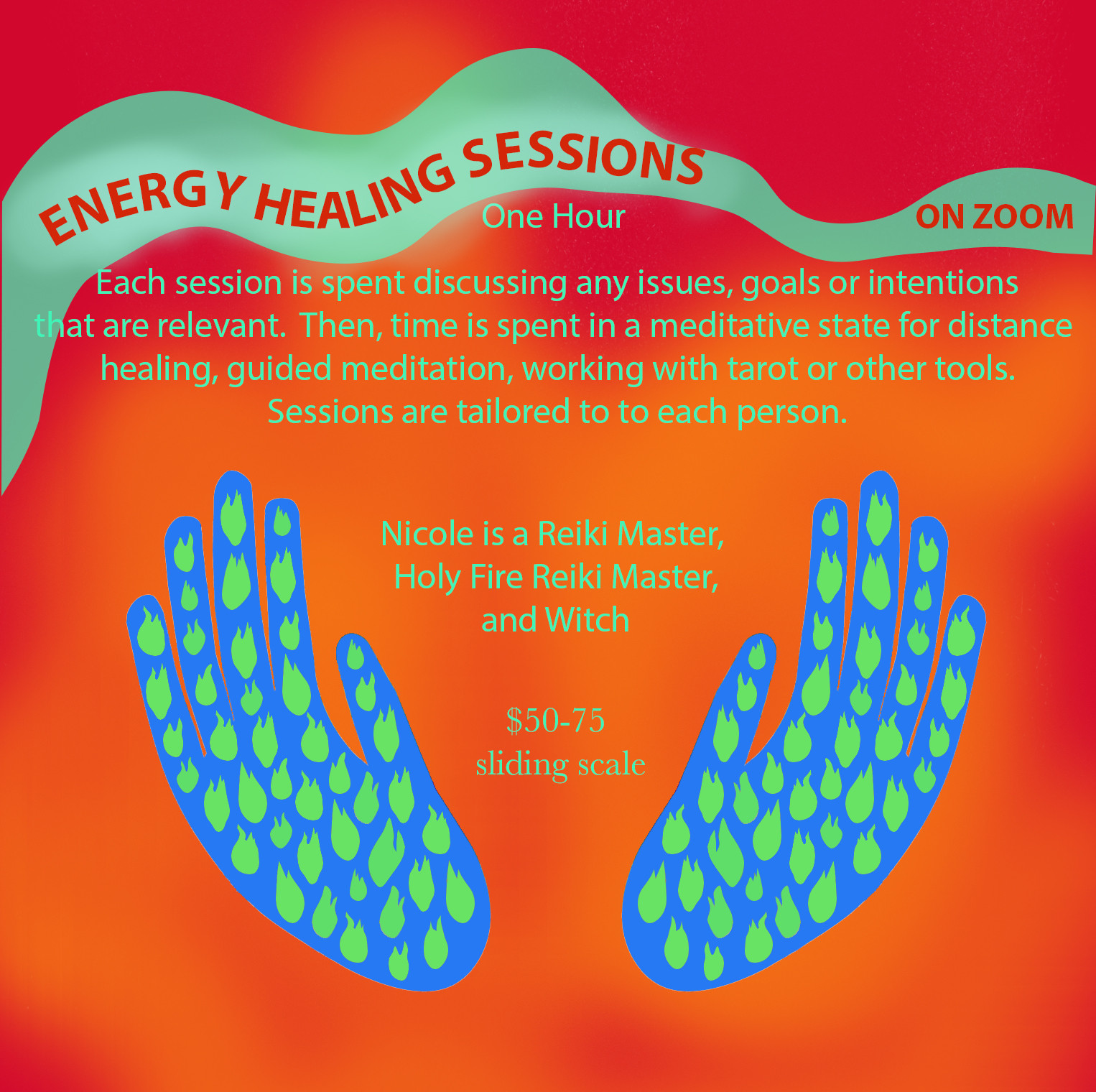 Healing Sessions on Zoom