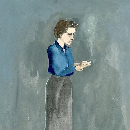 Hannah Arendt Print