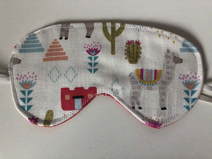Alpaca Print Eye Mask