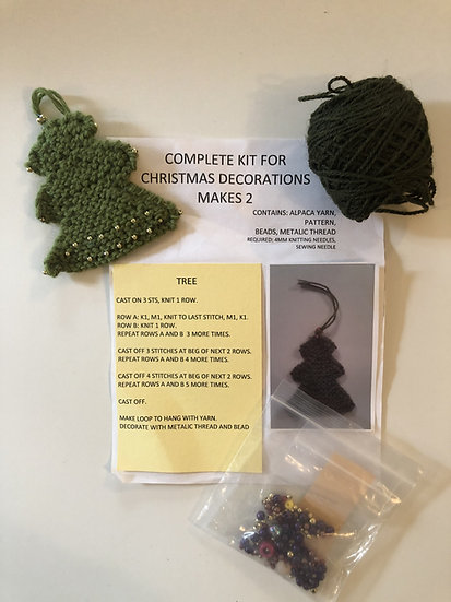 DIY Kit - Christmas Decorations