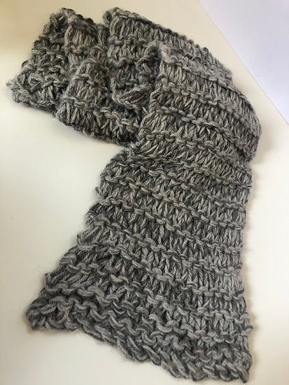 Dittany and Escalibur Grey Scarf