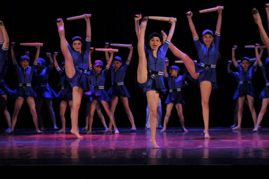 TNJ dancers performing on stage