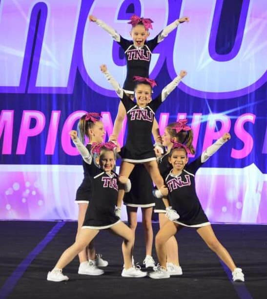 TNJ Twisters performing at the OneUp Championship