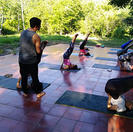 Terraza de yoga