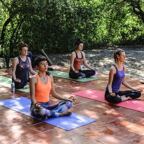 Yoga en la Reserva Caoba