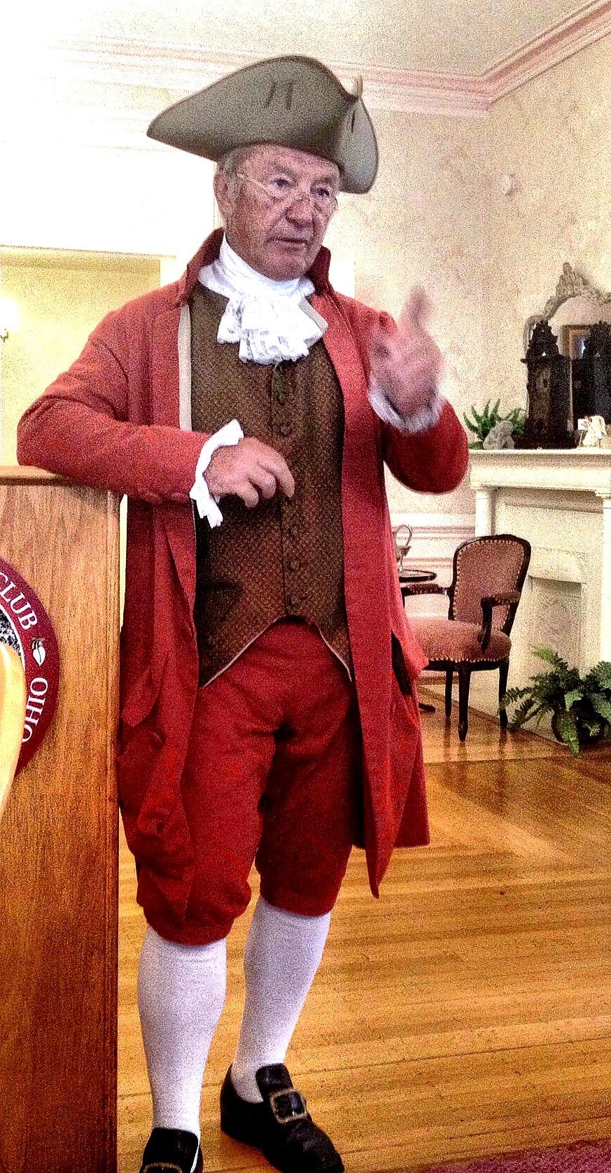 Bill Smith, Historical Re-Enactor