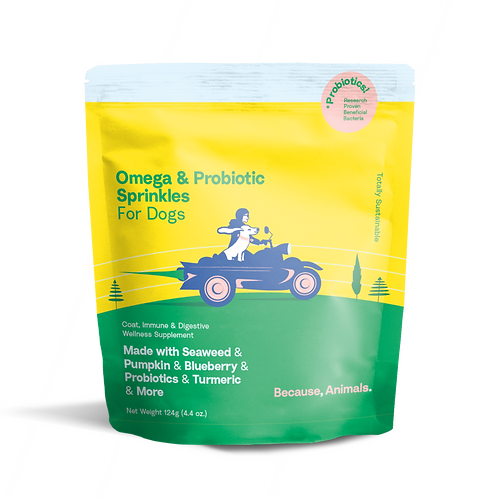 Because Animals - Omega & Probiotic Sprinkles for Dogs