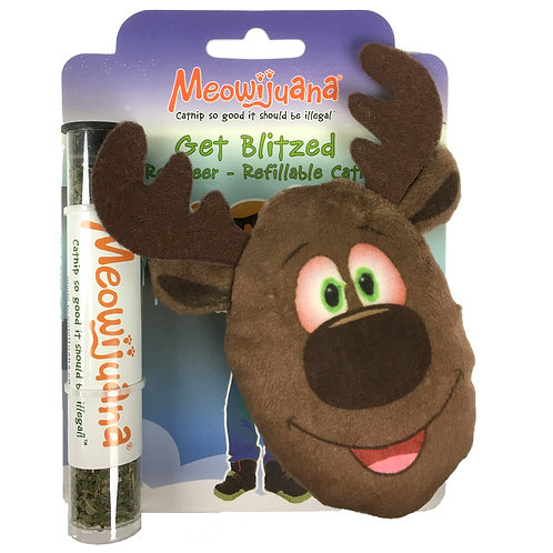 Get Blitzed Refillable Reindeer
