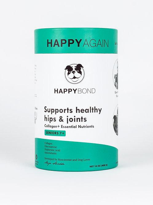 Happy Again Collagen Joint Supplement - Senior (7+ Years)
