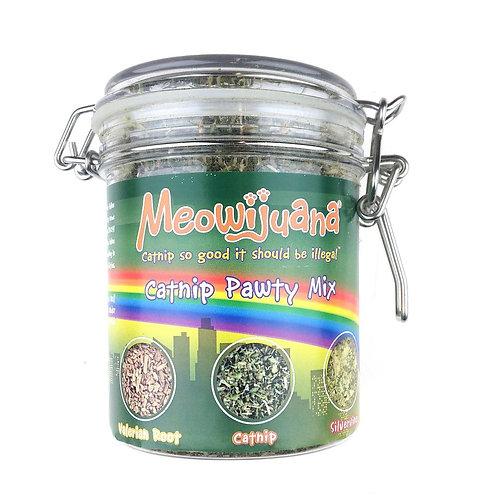 Jar of Catnip Pawty Mix