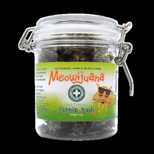 Jar of Catnip Buds