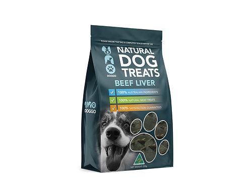 Uno Doggo Beef Liver - Natural Dog Treats 250g