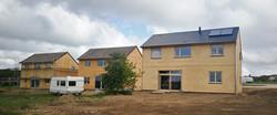Trois maisons paille