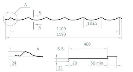 Монтерей люкс размеры