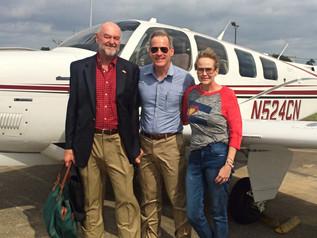 Community Service Champion: A Pilot Helping Patients