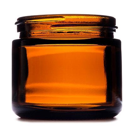 60ml Amber Squat Glass Jar