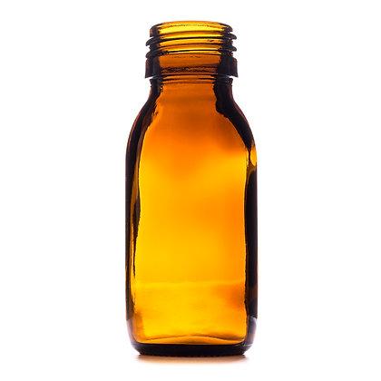 60ml Amber Medical Round Glass Bottle