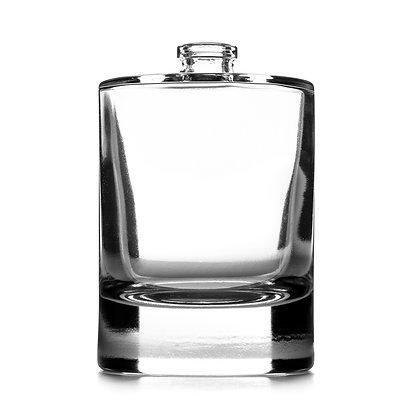 75ml Cylindrical Glass Bottle