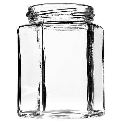 12oz (280ml) Hexagonal Jar