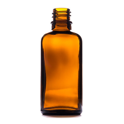 50ml Amber Glass Dropper Bottle