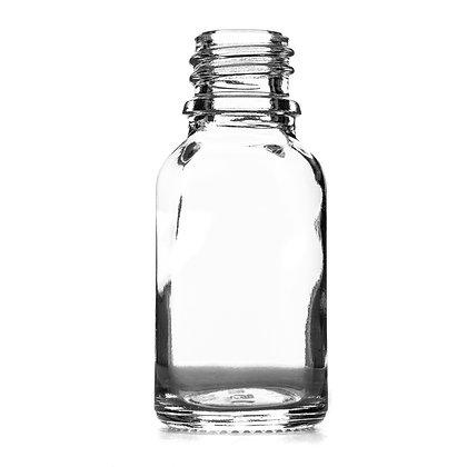 15ml Clear Glass Dropper Bottle
