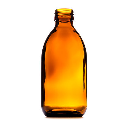 250ml Amber Medical Round Glass Bottle