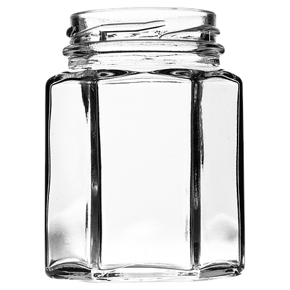 4oz (110ml) Hexagonal Jar