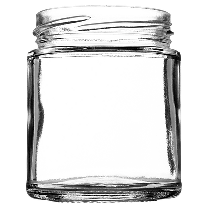 8oz (190ml) Panelled Squat Jar