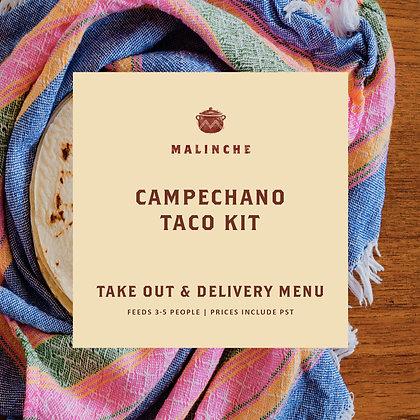 Malinche  Mushroom Campechano Taco Kit – Pork – Plant Based –GF